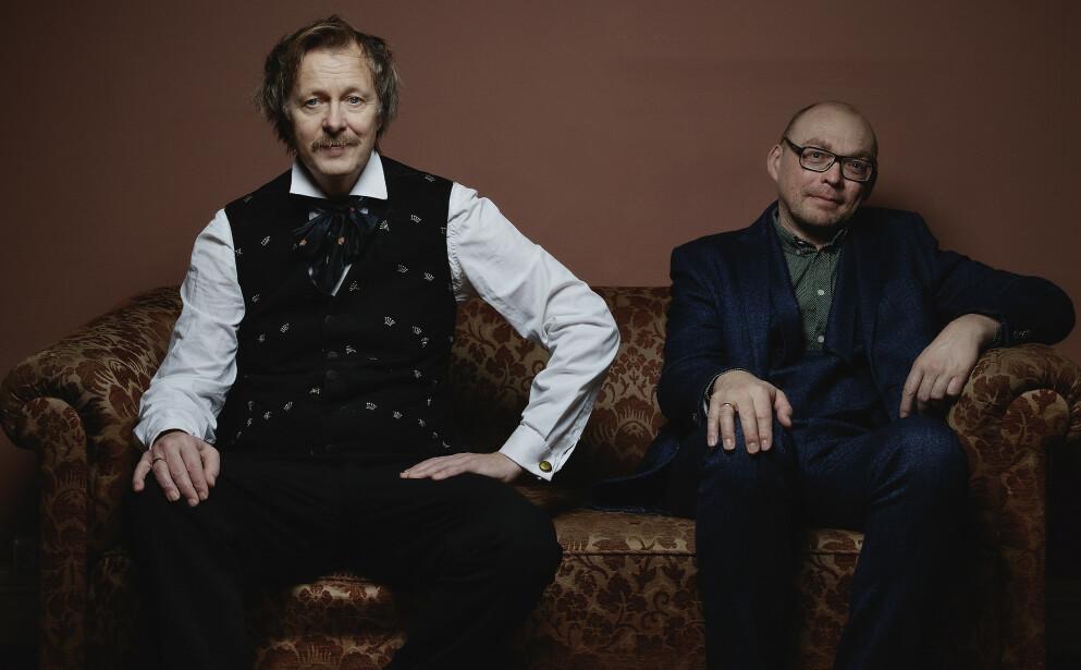 SYNGER GRIEG: Lars Lillo-Stenberg har vært i studio sammen med Bugge Wesseltoft og noen flere for å spille inn 14 Grieg-sanger. Foto: Agnete Brun