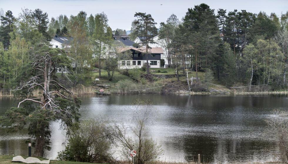 Langvannet: Anne-Elisabeth Hagen forsvant fra sitt hjem i Sloraveien like ved Langvannet i oktober 2018. Foto: Lars Eivind Bones / Dagbladet