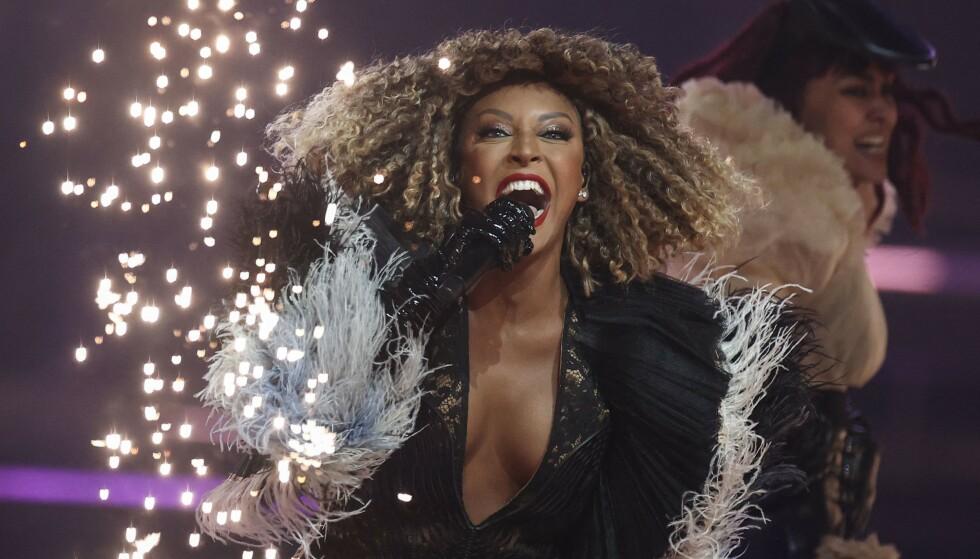 VIDERE: San Marino kvalifiserer seg for tredje gang i historien til finalen i Eurovision. Foto: NTB/AFP.
