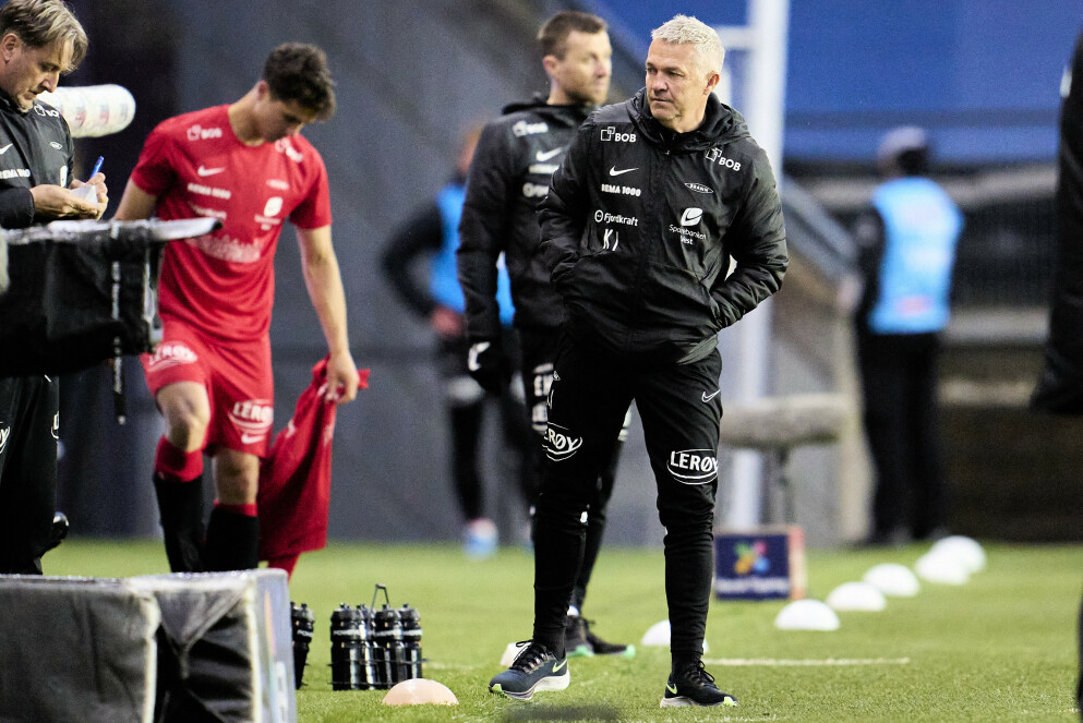 ILLE: Kåre Ingebrigtsen og Brann har fått den verste seriestarten på 33 år. Foto: Ole Martin Wold / NTB