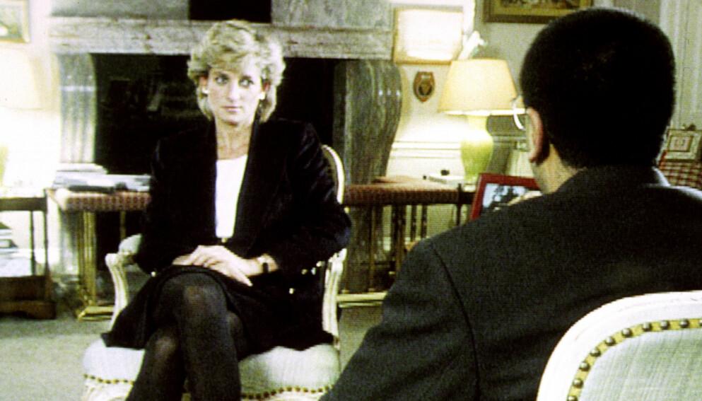 OMSTRIDT: BBC beklaget torsdag for Martin Bashirs Panorama-intervju med prinsesse Diana i 1995. Foto: Pa Photos / NTB