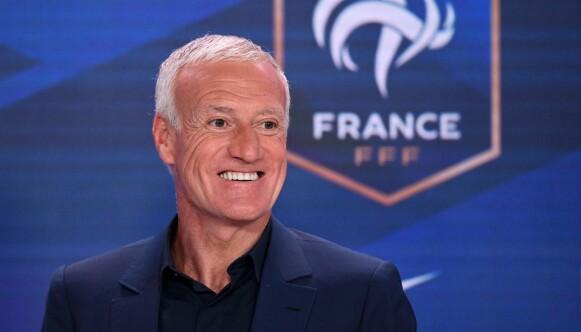 FRANSK LEDER: Didier Deschamps. FOTO: FRANCK FIFE / various sources / AFP.