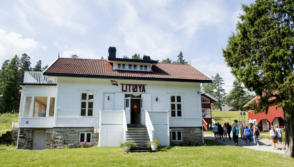 UTØYA: Her fra en minnemarkering fem år etter terrorangrepene 22. juli 2011. Foto: Jon Olav Nesvold / NTB