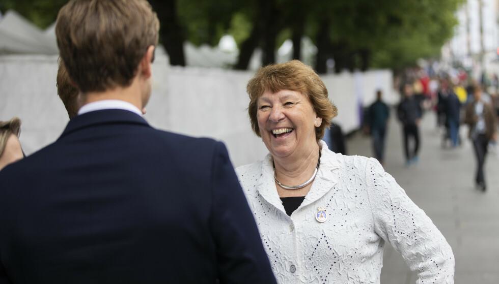 GLEDER SEG: Ordfører Marianne Borgen er glad for at hovedstaden kan åpne igjen neste uke. Foto: Ola Vatn / NTB
