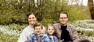 Deler nye familiebilder