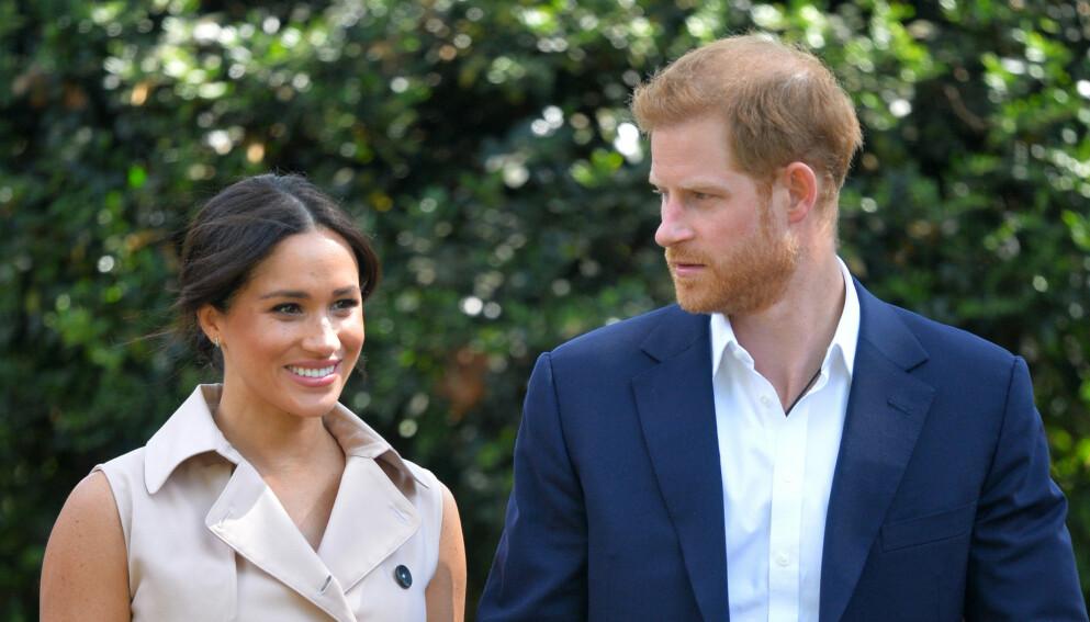 VANSKELIG TID: Prins Harry fryktet han skulle miste hertuginne Meghan. Den frykten har han ikke gitt helt slipp på ennå. Foto: AP/NTB