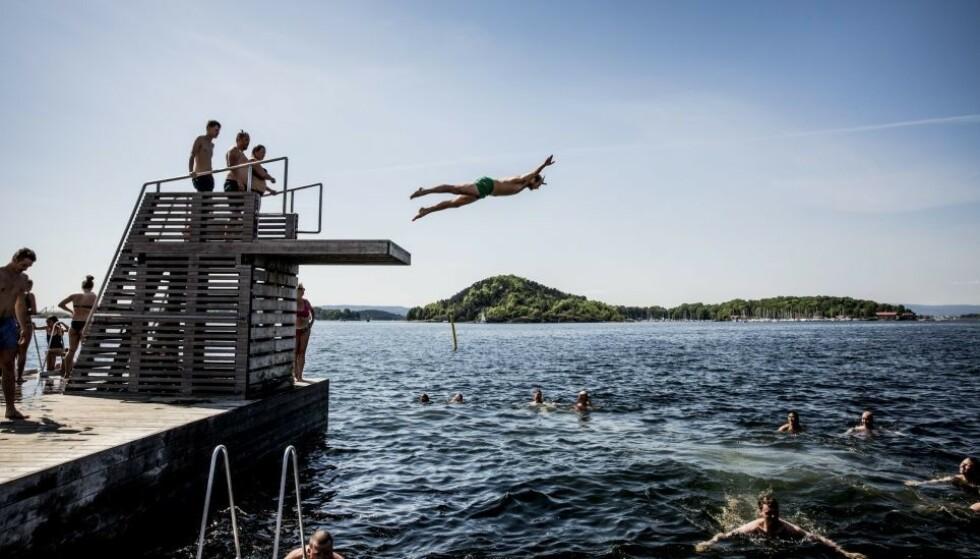 SOMMER: Meteorologisk institutt kommer med en gladmelding til alle som lengter etter sommer. Foto: Christian Roth Christensen / Dagbladet