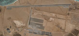 Mystisk flybase: Nekter å svare