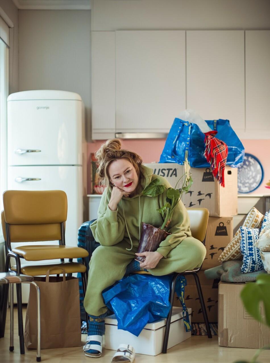 NYTT KAPITTEL: Å bli samboer skremmer Trine Lise Olsen nesten like mye som det lokker. – Hvis man bare er happy så er man kanskje ikke klar for at det kan bli litt vanskelig også?
