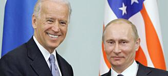 Hva vil Biden med Putin?