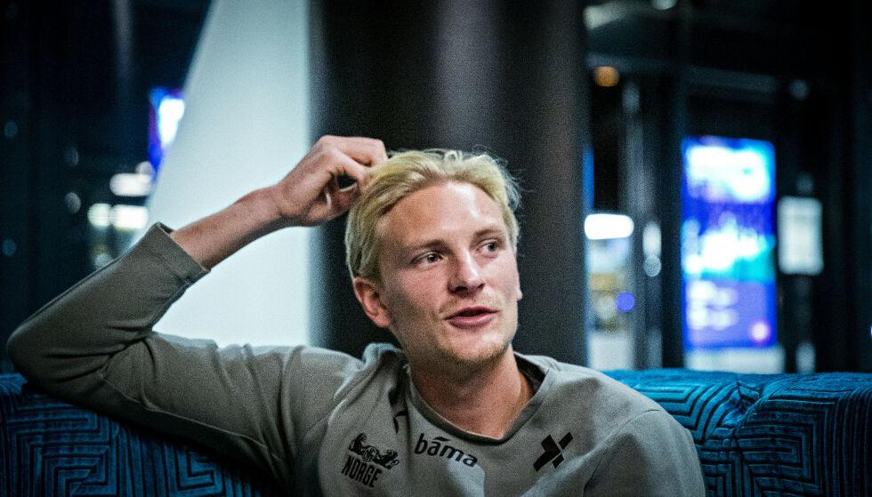 KLAR: Morten Thorsby vil vise seg fram i den kommende lanskampene mot Luxemburg og Hellas. Foto: Bjørn Langsem / Dagbladet