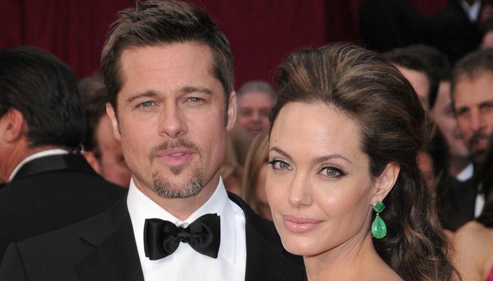 DELT OMSORG: Helt siden Brad Pitt og Angelina Jolie tok ut skilsmisse i 2016 har førstnevnte ønsket delt omsorg for barna. Foto: Stewart Cook/REX/NTB