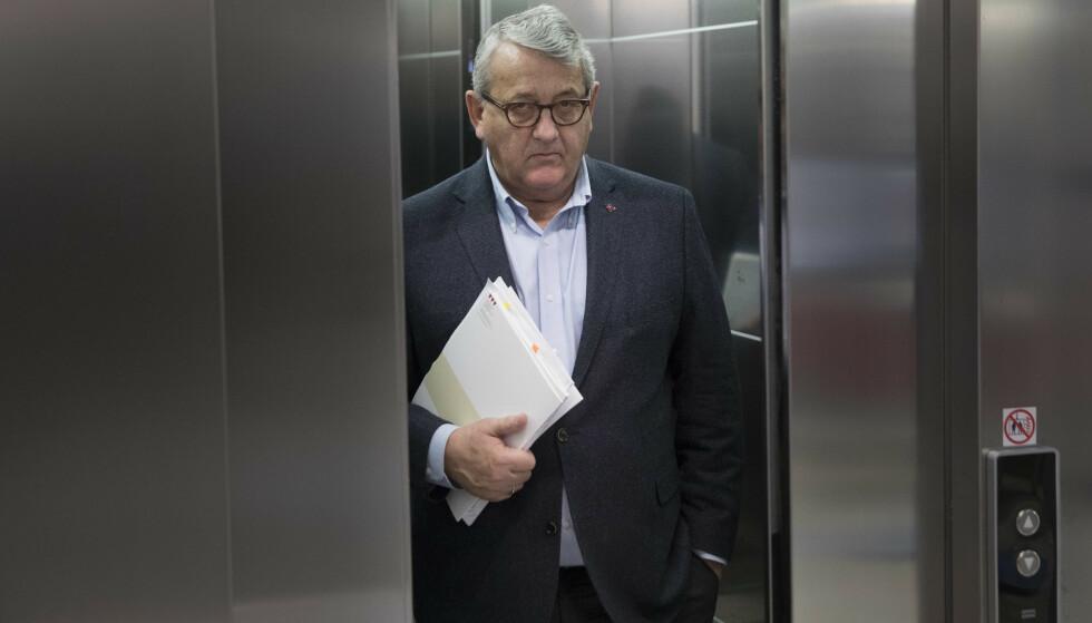 EN BOMBE: Riksrevisor Per Kristian Foss slapp denne uka en bombe som Stortingets presidentskap må rydde opp i øyeblikkelig. Foto: Ole Berg-Rusten / NTB
