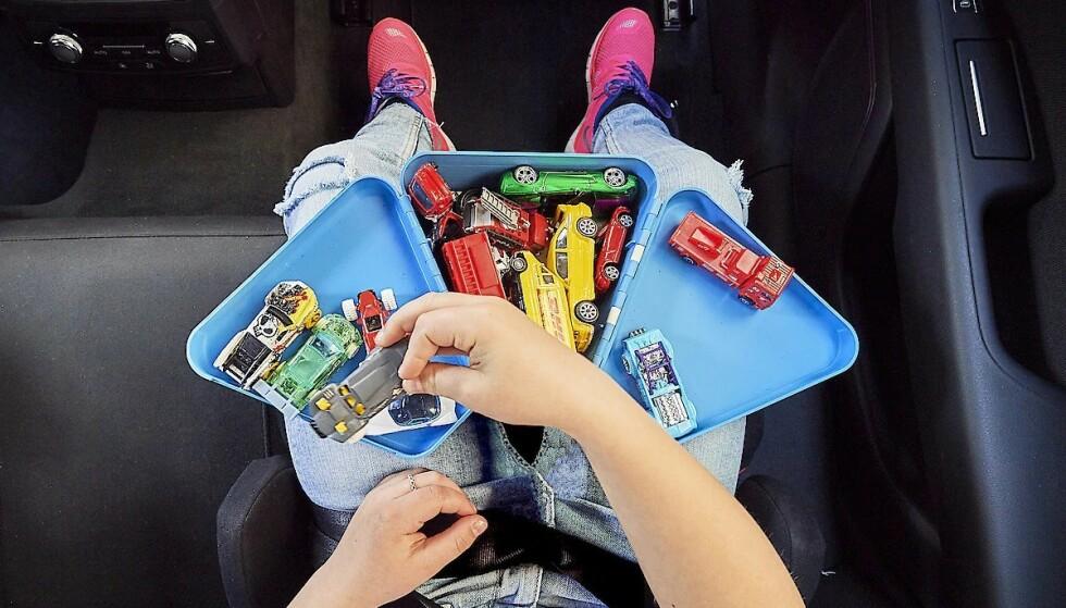 MORO PÅ BOKS: Med en TeeBee-lekeboks kan barna få med seg yndlingslekene. Og ikke bare én av dem, men mange, for det er flere rom!