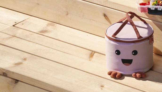 KJØLEBAGKOMPIS: Som rommer 4 liter, er myk - og god å bære! En ålreit turkamerat.