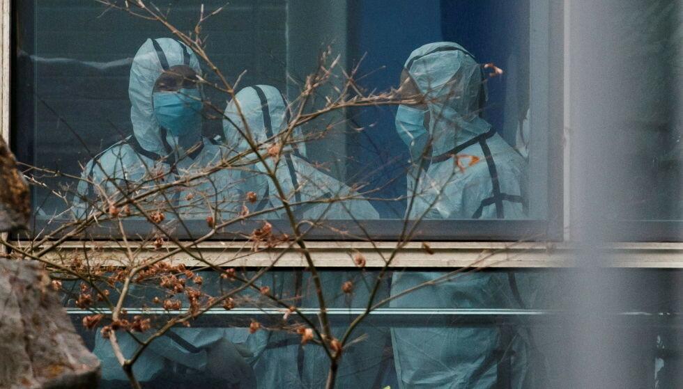 VANSKELIG JOBB: En ekspertgruppe fra WHO dro til Kina i januar i år for å prøve å finne coronavirusets opphav. Foto: Reuters / NTB