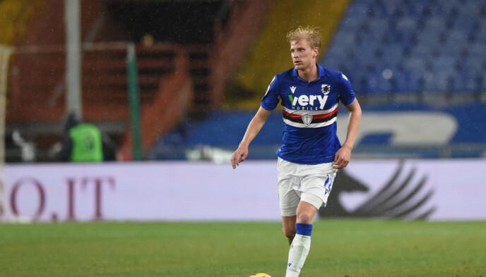 STORSPILT: Morten Thorsby har vært en av Sampdorias beste spillere denne sesongen. Foto: NTB