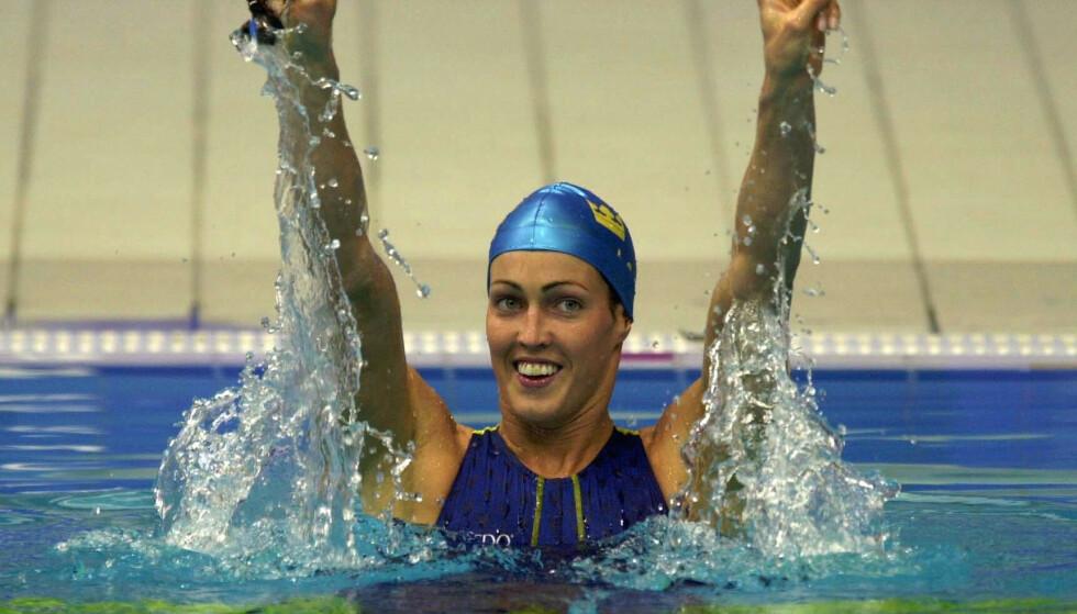 SYDNEY: Therese Alshammar under OL i Sydney i 2000. Foto: Scanpix