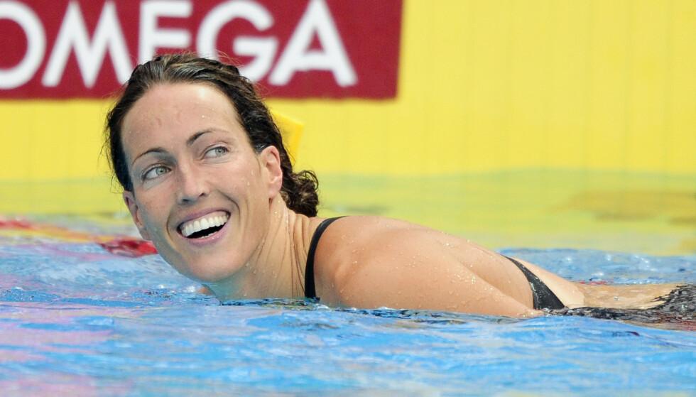 COMEBACK: Svenske Therese Alshammar - med hele 72 mesterskapsmedaljer - gjør comeback. Foto: AFP
