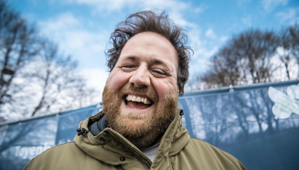 MODIG: Ronny Brede Aase deler sin reise til det han opplever som god helse i sitt program «Et feitt liv» på NRK. Foto: Lars Eivind Bones / Dagbladet