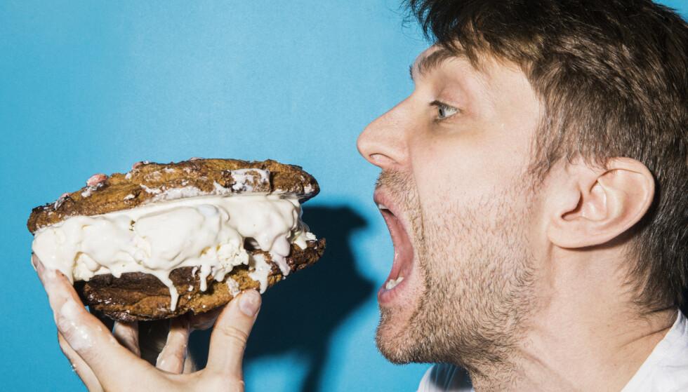 HAR DU LYST HAR DU LOV: Kaayne er tilhenger av at du skal spise det du synes er godt, ikke det andre forteller deg at du liker. Foto: Sigurd Fandango / Sånn her lager du ...
