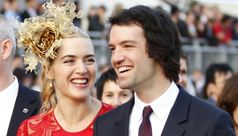 HYLLES: Kate Winslet skryter uhemmet av ektemannen Edward Abel Smith. Foto: Tyrone Siu / REUTERS/ NTB