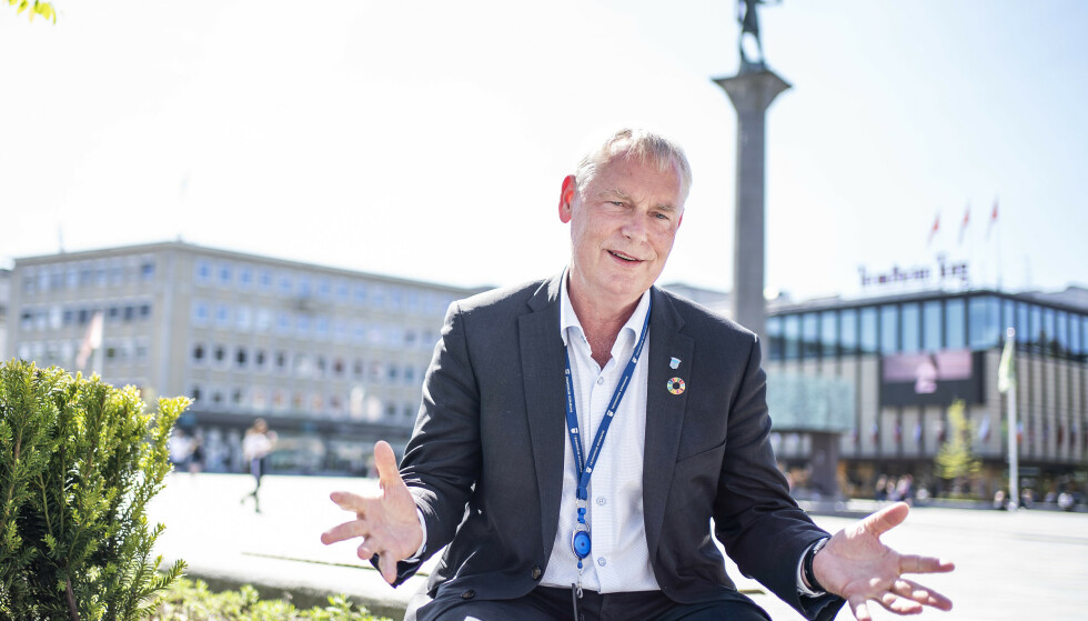 VIL TROLIG BE OM VAKSINER: Kommunedirektør Morten Wolden sier Trondheim ligger dårligst an med vaksineringen blant storbyene i Norge, og at de trolig må se seg nødt til å be om flere doser. Foto: Hans Arne Vedlog / Dagbladet