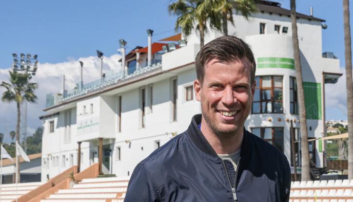 EKSPERT: Jesper Mathisen er på plass i Marbella denne uka. Foto: Geir Olsen / NTB
