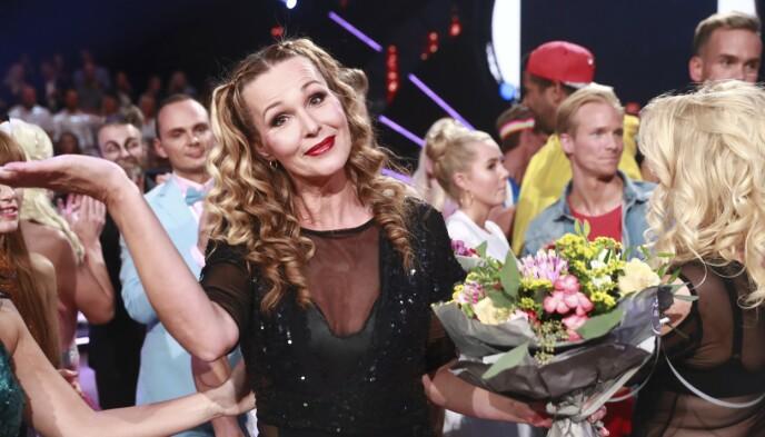 ENTRET DANSEPARKETTEN: TV 2-Dorthe var med i «Skal vi danse» i 2018. Det likte hun ikke. Foto: TV 2