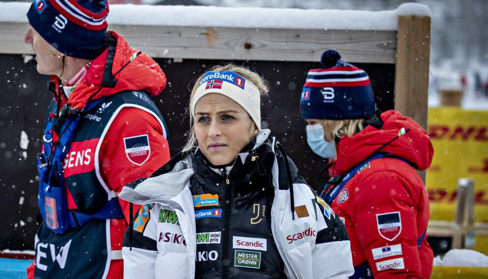 REISER HJEM: Therese Johaug har reist hjem fra samling på Sognefjellet. Foto: Bjørn Langsem / Dagbladet