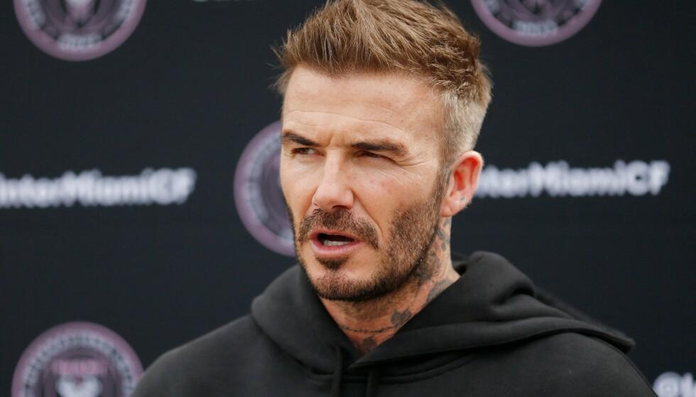 SLITER: David Beckham kunne nesten ikke fått en dårligere start på sin klubbeier-karriere. FOTO: Michael Reaves/AFP