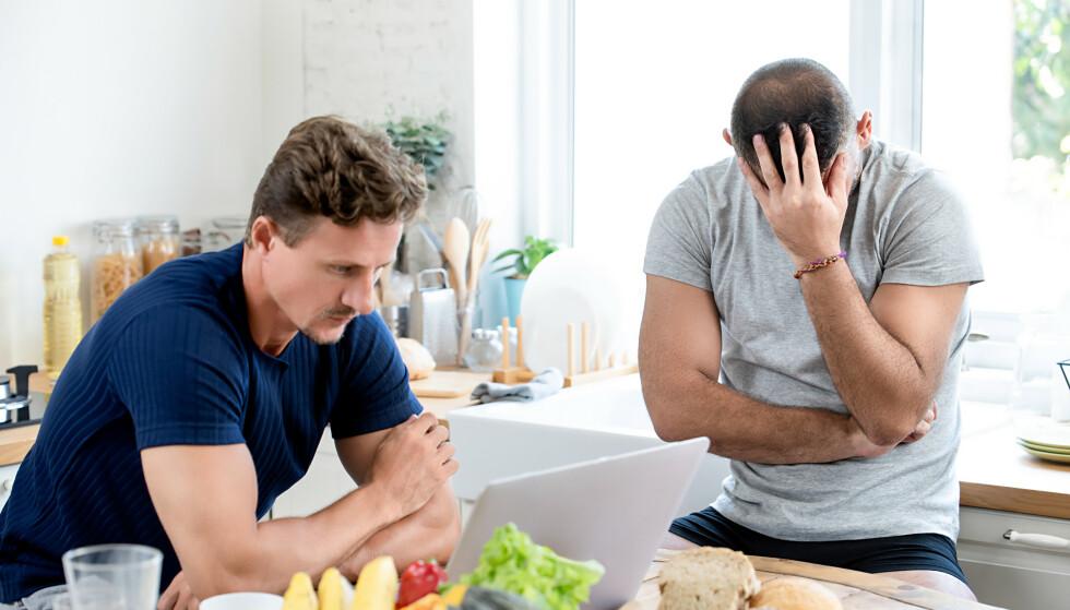 ULIKE REAKSJONER: I et samliv kan det være utfordrende med ulikt temperament. Parterapeuten har gode råd. Illustrasjonsfoto: Shutterstock / NTB scanpix