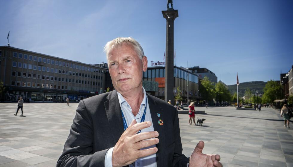BEKYMRET: Kommunedirektør Morten Wolden i Trondheim er bekymret for at personer som nekter å oppgi nærkontakter kan føre til at smitte spres i byen. I verste fall den indiske mutasjonen, som det nå er registrert flere tilfeller av. Foto: Hans Arne Vedlog / Dagbladet