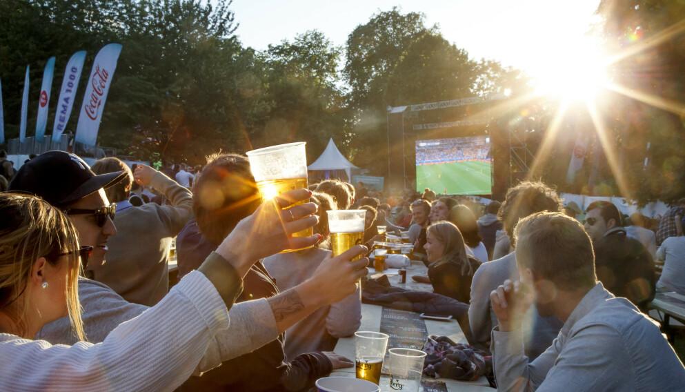 EM 2021: Selv om corona vil sette visse begrensninger på arrangementene i sommer, er det fortsatt flere arrangører rundt omkring i landet som lover fotballfest. Vi har samlet dem for deg, så du vet hvor du skal gå for å få folkefestfølelsen i trygge rammer. Foto: Heiko Junge