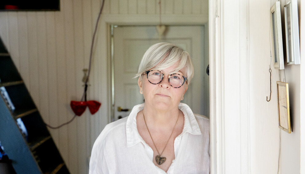 PSYKEDELIKA: Kirsthi Egholm (62) hadde aldri prøvd noen ulovlige rusmidler før hun testet såkalt psykedelisk terapi i Oslo. Foto: Kristin Svorte / Dagbladet