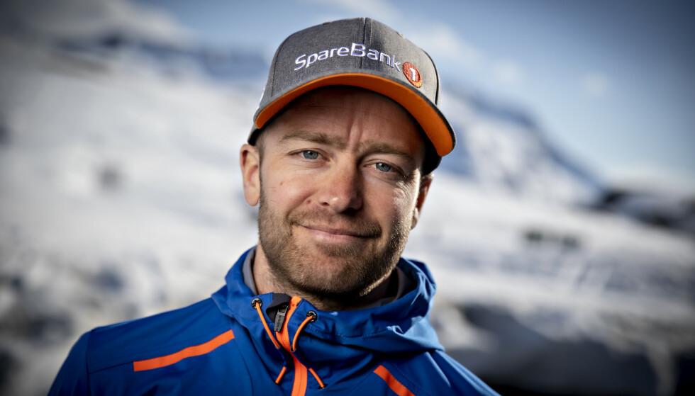 HAR TATT DET ROLIG: Sjur Røthe . Foto: Bjørn Langsem / Dagbladet