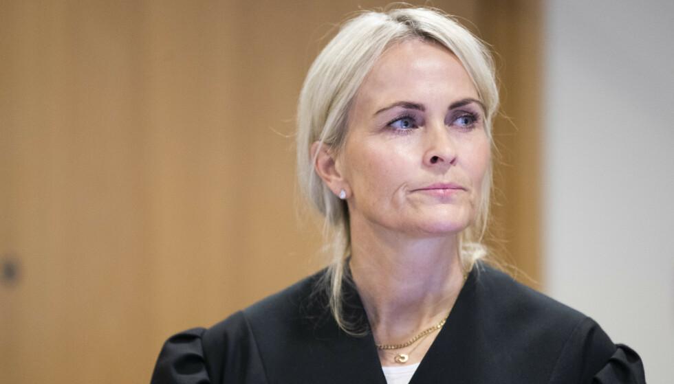 AKTOR: Statsadvokat Ane Evang er aktor i saken mot tobarnsmoren. Foto: Berit Roald / NTB