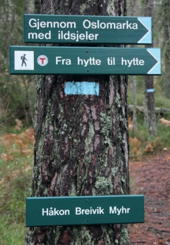 «Gjennom Oslomarka med ildsjeler» av Håkon Breivik Myhr, Dreyer