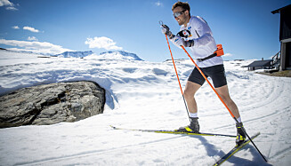 TILBAKE PÅ SKI: Emil Iversen. Foto: Bjørn Langsem / Dagbladet