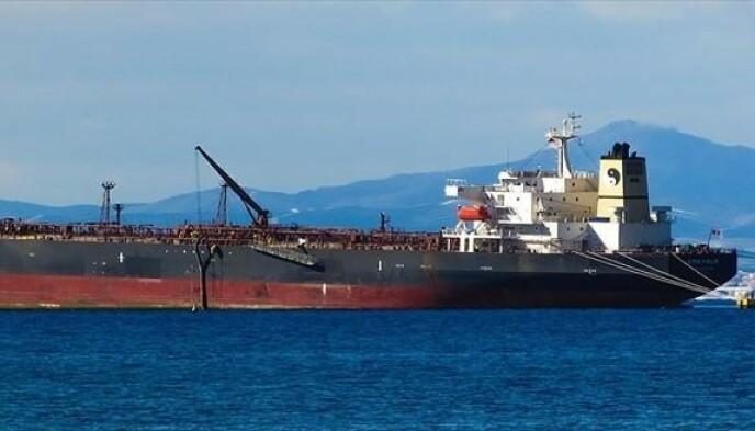De beste dagene: Oljetankskipet virket trygt før det rustet. Avbildet her i 1999. Foto: Marine Traffic