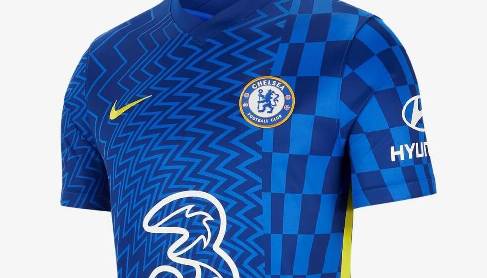 Chelseas nye hjemmedrakt.
