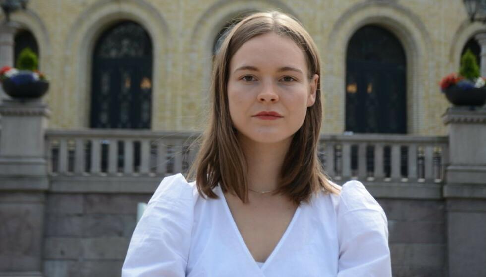 KRITISK: Førstekandidat Ulrikke Torgersen i Rogaland MDG. Foto: Miljøpartiet De Grønne
