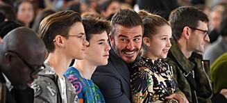 Ny jobb for Beckham-sønn