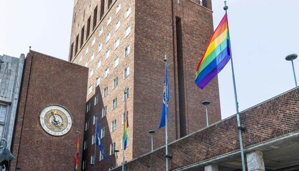 PRIDE: Begreper som mangfold, toleranse og homokamp går igjen for å beskrive regnbueflagget og Pride, men er det det? spør kronikkforfatteren. Foto: Tore Meek / NTB