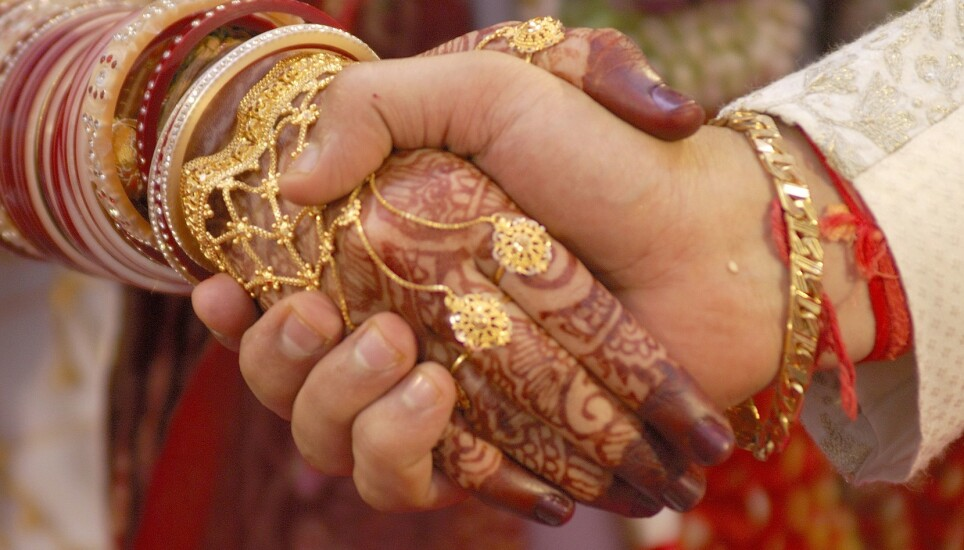 INDISK BRYLLUP: Bilde fra tradisjonell indisk bryllupsseremoni. Bildet er ikke tatt i sammenheng med saken som omtales. Foto: Stock Connection/REX