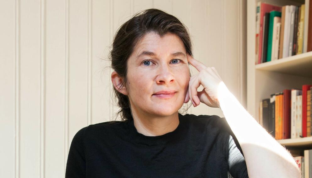 AINA VILLANGER: Forfatteren er ute med sin fjerde bok. Foto: INGRID EGGEN