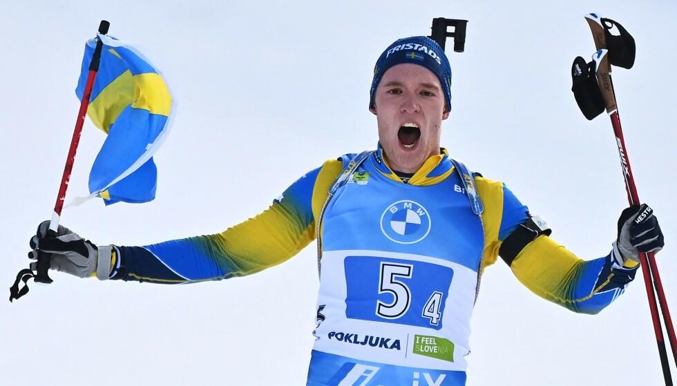 KRITISK TIL OL: Sebastian Samuelsson er allerede kvalifisert til OL. Foto: NTB