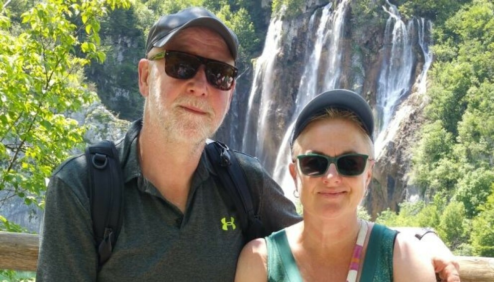 GLEDER SEG: Otto Bentsen og Elin Drangland er vel bereiste og gleder seg til å kunne feriere utenfor Norge. Foto: Privat