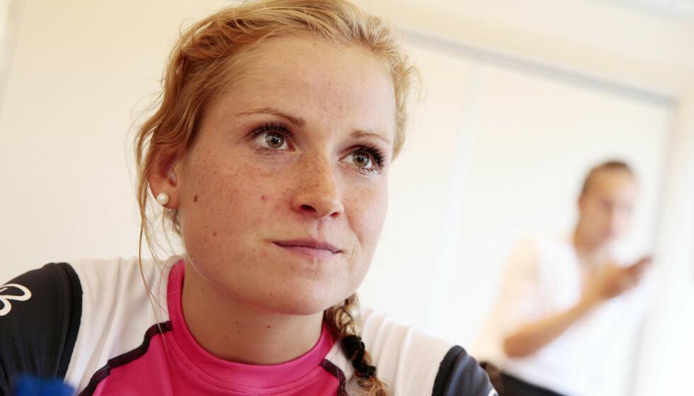 GLEDER SEG: Marthe Kristoffersen gleder seg til å dele kunnskap og erfaring med TV-seerne. Foto: Håkon Mosvold Larsen / NTB