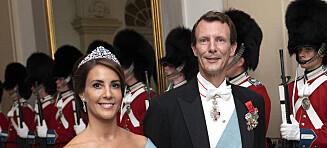 Danskene vil frata prinsen apanasjen